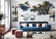 What lamp for my living room? Home Living Room, Living Room Designs, Interior Styling, Interior Design, Living Room Cabinets, Living Room Lighting, Room Lights, Elle Decor, Design Awards