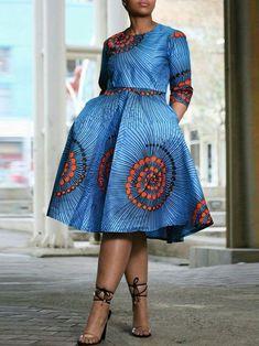 Ankara Dress Styles, African Lace Dresses, African Dresses For Women, African Attire, African Wear, African Fashion Designers, African Fashion Ankara, Latest African Fashion Dresses, African Print Fashion