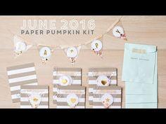 Stampin' Up! June Paper Pumpkin Kit!   http://stampinpretty.com/2016/06/spoiler-june-paper-pumpkin-video.html
