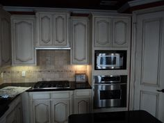 ... Gray Stained Oak Cabinets Gray Stained Oak Cabinets With Top Gray Cabinets In Kitchen ...
