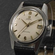 Omega Seamaster Date - Automatic - Anno 1960 - Www.WristChronology.com