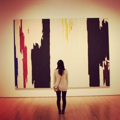 Love these big, bold brushstrokes. Could be cool if I did some and we used it in the background of the website? - m What better way to be inspired to make art than by looking at art? Pictured: Clyfford Still's Untitled Abstract Expressionism, Abstract Art, Human Art, Art For Art Sake, Elements Of Art, Cool Paintings, Lovers Art, Art Pictures, Sculpture Art