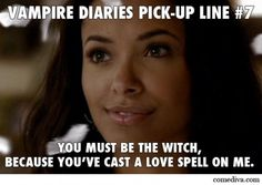 Witch pick up lines