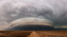South of Holy... The beauty of storm chasing is seeing structure and organization in clouds that appears unnatural. When you look up and just know...something wicked this way comes.  This was May 24th of this year south of Holly, Colorado. One heck of a day chasing...it started south of Lamar and would end up near Moscow, Kansas before the night was over.