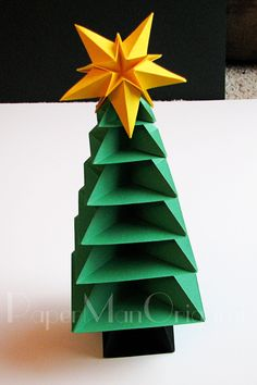 Origami Christmas Tree Tutorial 36 copy(pmowatermarked) (2)