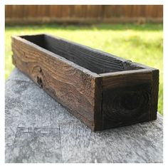 Set of Ten Rustic Wedding Centerpiece Flower Boxes, Table Centerpiece, Wood Flower Boxes - All About Gardens Cedar Planter Box, Wooden Planter Boxes, Plastic Planter, Window Planter Boxes, Wood Boxes, Planter Box Centerpiece, Rustic Planters, Wood Tray, Outdoor Flower Boxes
