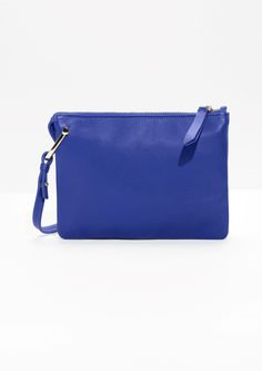 & Other Stories image 1 of D-Ring Crossbody Bag in Blue