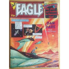 Eagle 06/08/1983 UK Paper Comic Sci Fi