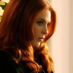 Bridget Regan as Samantha Blackstone Kingsley from Heart of Thunder by Johanna Lindsey