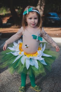 lily pad kids costume // Halloween from the pond // Momista Beginnings