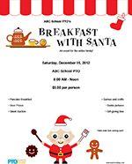 PTO Today: Breakfast With Santa Flyer