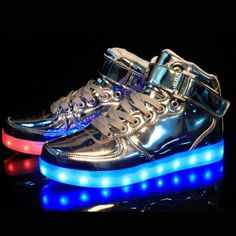 897d0247fa1 10 LED Shoes That Light Up At The Bottom And Change Colors Like Crazy