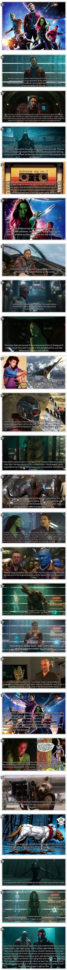Here are some interesting Guardians of the Galaxy facts you might not have known.