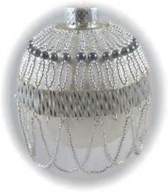 Belle of the Ball Ornament Kit Silver