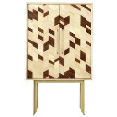 Get inspired by Dorothy Dry Bar Cabinet Design | #inteirordesign #luxuryfurniture #exclusivedesign #bar #barcabinet #woodencabinets