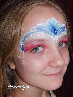 Bildergebnis für eiskönigin schminken