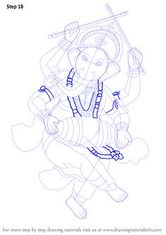 ganesha sketch 11  690 x 925  area77 in 2020  art