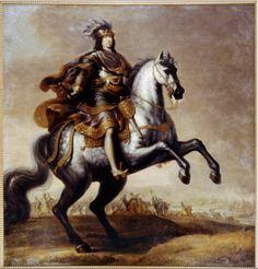 Karl X Gustaf of Sweden by David Ehrenstrahl.