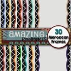 Amazing Moroccan Frames - FREE Remember to leave a positive feedback.  This set contains: --------------------------- • 30 digital paper sheets wit...