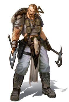 Nordian Berserker Imperial Guard by warhammer40kcampaign.deviantart.com on @DeviantArt