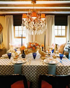 Rustic Country Thanksgiving with a hint of glam.