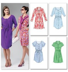 Pattern Reviews> McCall's> 6520 (Misses'/Women's Dresses and Belt)