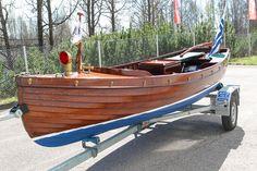 Mahogany boat 1910