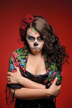 Day of the Dead Guide: Hair, Makeup, and Fashion