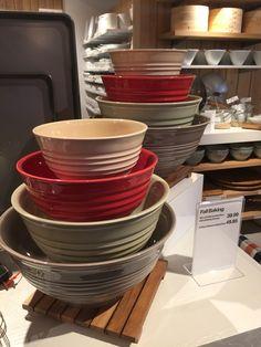 Crate & Barrel mixing bowls  Love the autumn colors  2016