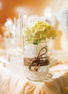 shabby chic wedding table decorations | Shabby Chic Scrabble Inspired Wedding Dessert Table // Hostess with ...