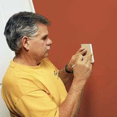 Photo: David Carmack | thisoldhouse.com | from How to Patch Holes in Drywall