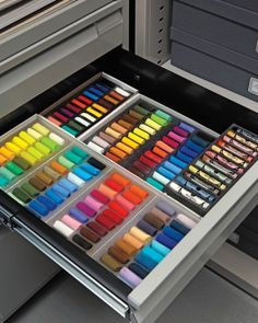 This is the most organized craft room drawer organization ever!