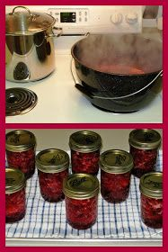 The Iowa Housewife: Home Canned Cranberry Sauce