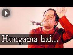 Ghulam Ali Ghazals : Hungama Hai Kyun - Ghulam Ali Songs - Mehfil Mein Baar Baar - YouTube