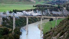 Steam Train over the Rangitikei River