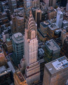 Chrysler Building (1930). The world's tallest building, at 1046ft, for 11 months until the Empire State Building was completed in 1931.