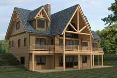 House Plan 039-00625 - Lake Front Plan: 4,154 Square Feet, 3 Bedrooms, 2.5 Bathrooms