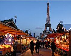 Kerstmarkt in Parijs. #Stedentrip#EenDagjeParijs#Busreis#SlangenReizen