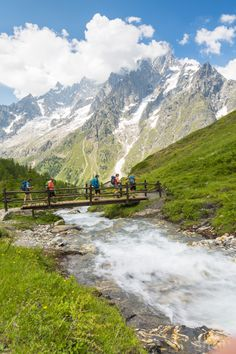 Enjoy stunning views of Mont Blanc throughout our adventure!