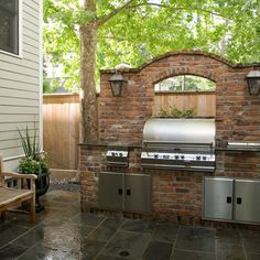 patio design, great built in grill | favorite landscape ideas ... - Patio Grill Ideas