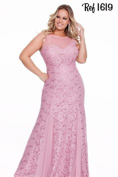 Vestidos Plus Size - Coleção 2016 - Aiza Collection. #Fashion #Women