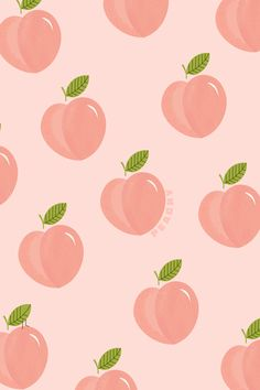 Peach Wallpaper, Wallpaper Stickers, Cute Patterns Wallpaper, Cute Disney Wallpaper, Cute Wallpaper Backgrounds, Pretty Wallpapers, Simple Background Images, Peach Walls, Cellphone Wallpaper