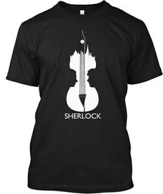 084beb4fe525 Discover Limited Edition Sherlock Gear T-Shirt