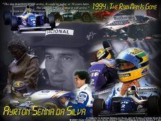 Senna's final race  May 1 94 at the San Marino Grand Prix. He was coming around the Tamburello corner at 190 mph and his steering shaft broke sending Ayrton into the wall