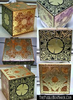 Hellraiser Puzzle Box on Etsy, $150.00
