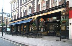 The Frog and Peach Pub across the road from the Paddington Children's Hospital