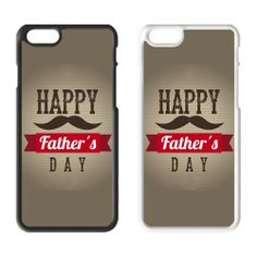 Father's Day Printed Hard Plastic iPhone Phone Case 04