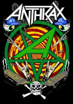 Anthrax ~ Caught in a Mosh by Rafal Wechterowicz