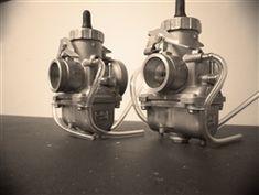 Big! Mikuni 32mm carb carburetor kit CB350 CB360 CL350 (2) vm32 cafe racer