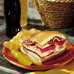 Easy Turkey Recipes: Turkey, Bacon, and Havarti Sandwich - Thanksgiving Dinner Leftovers Recipes - Southern Living